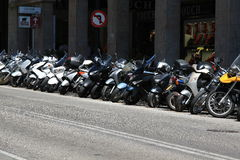 Bike-city stock photos