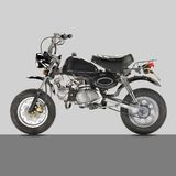 bike classic monkey Στοκ εικόνες με δικαίωμα ελεύθερης χρήσης