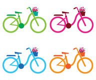 Bike03. Colorful bike for four seasons Royalty Free Stock Photos