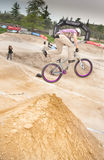 Bike competition Stock Photo