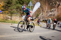 Bike competition Royalty Free Stock Photos