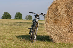 Bike in the country side Royalty Free Stock Image