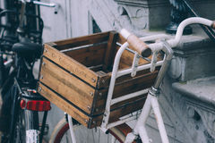 Bike with crate