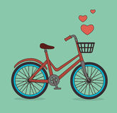 Bike design. Royalty Free Stock Images