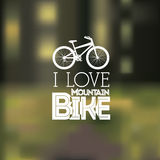Bike design Stock Image