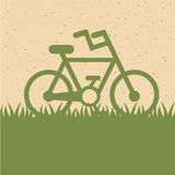 Bike design Royalty Free Stock Photography