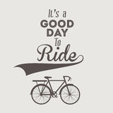 Bike design. Over white background, vector illustration Royalty Free Stock Image