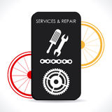 Bike design Royalty Free Stock Photography