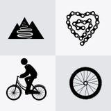 Bike design. Royalty Free Stock Image