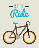 Bike design, vector illustration. Royalty Free Stock Image
