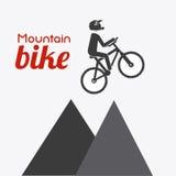 Bike design, vector illustration. Stock Photo