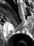 Bike detail. (b&w royalty free stock photo