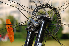 Bike disc brake Royalty Free Stock Photos