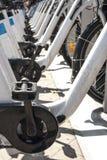 Bike docking station Royalty Free Stock Image