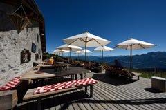 Stalla, Alp Nagens, Graubunden, Switzerland royalty free stock photo