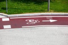 Bike el camino Imágenes de archivo libres de regalías