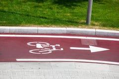 Bike el camino Imagenes de archivo