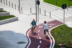 Bike el camino Fotografía de archivo libre de regalías