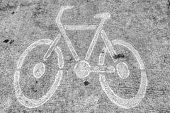 Bike el camino Fotos de archivo