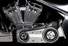 Bike engine Stock Photo