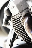 Bike engine Royalty Free Stock Photos