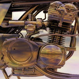 Bike Engine Stock Photography