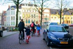 Bike family Royalty Free Stock Image