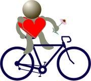 Bike figures Royalty Free Stock Photo