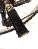 Bike foot rest Royalty Free Stock Image