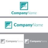 Bike Frame Logo Design Stock Photo