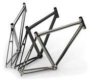 Bike frames Stock Image