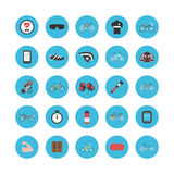 Bike gadget icon Royalty Free Stock Images