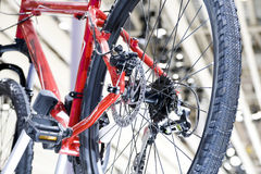 Bike Gear Changing Royalty Free Stock Photos
