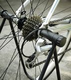 Bike gear system Royalty Free Stock Photo