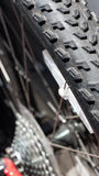 Bike gear. Bike gear and bike tires Stock Images