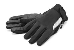 Bike gloves Royalty Free Stock Images