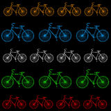 Bike graphic Royalty Free Stock Photography