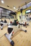 Bike gym Stock Image
