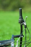 Bike handle Stock Images