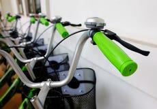 Bike handlebar Stock Photography