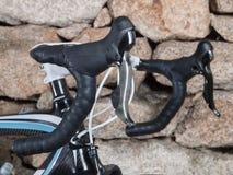 Bike handlebar Royalty Free Stock Images