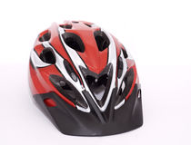 Bike helmet royalty free stock photography