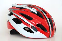 Bike helmet Royalty Free Stock Images