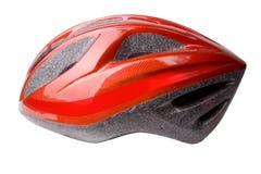 Bike Helmet on White Stock Photo
