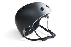 Bike helmet. On white background Stock Photo