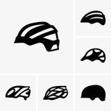Bike helmets Royalty Free Stock Photo