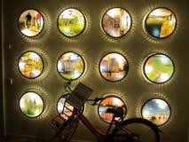 Bike in hotel stock photo