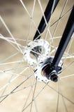 Bike hub and spoke Royalty Free Stock Images