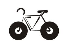 Bike icon Stock Image