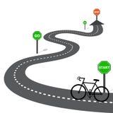 Bike Icon, bike Icon Vecto Royalty Free Stock Photos